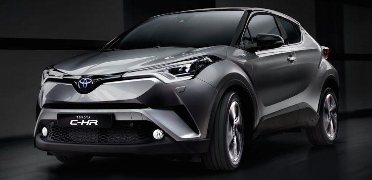 Toyota C-HR hibrit modeli